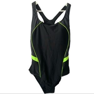 Other - Women's One-Piece Open Back Swimsuit M Black
